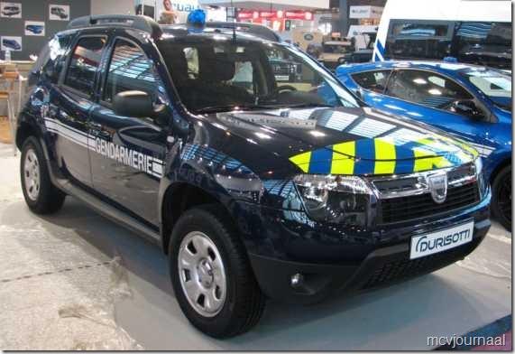 Dacia Duster Gendarmerie Frankrijk