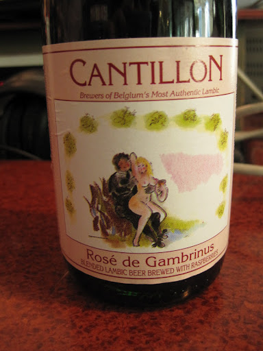 This limited edition Lambic beer went perfectly with herring and was described by Rozanne to look like cherry soda.