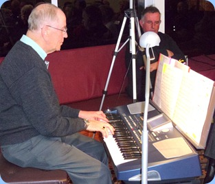 John Beales played his Korg Pa500 for us