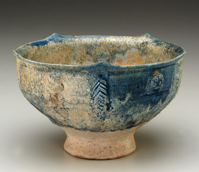 Bowl | Origin:  Iran | Period: 12th century | Details:  Not Available | Type: Stone-paste painted with glaze | Size: H: 12.4  W: 20.0   D: 20.0  cm | Museum Code: S1997.119 | Photograph and description taken from Freer and the Sackler (Smithsonian) Museums.