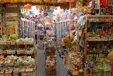 """One of several collectible toy shops in the Nakano """"Broadway"""" complex"""