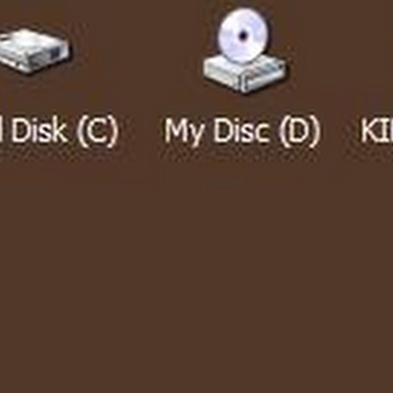 Desktop Media Automatically Adds Shortcuts to USB Drives, DVDs on the Desktop