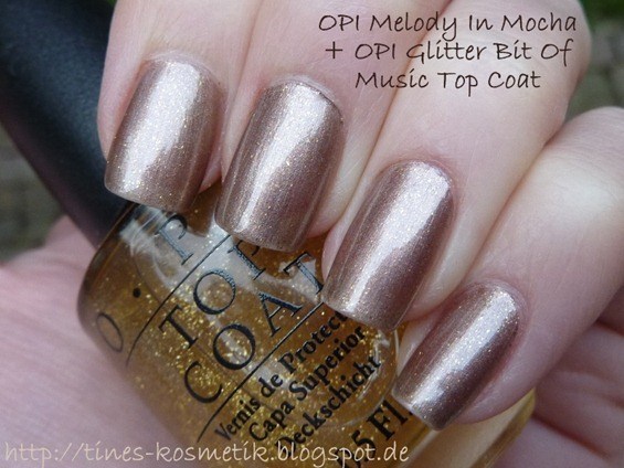 OPI Melody In Mocha Glitter Bit Of Music 1