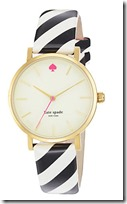 Kate Spade Metro Candy Stripe Watch