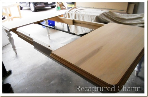 Solid Wood Table stained 011a