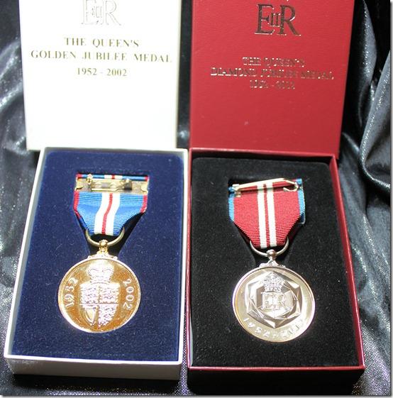 Medals back