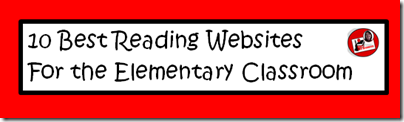 10 best reading websites for the elementary classroom