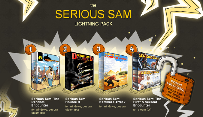 serious sam lightning bundle