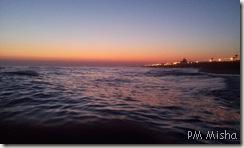 Praia de Faro à noite
