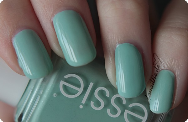 "essie Vergleich dupe ""mint candy apple"" vs ""fashion playground"""