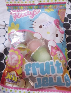 hello kitty fruit jelly, 240baon