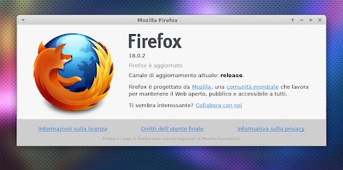 Mozilla Firefox 18.0.2