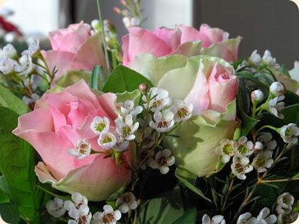 Blomster fra menighedsrådet