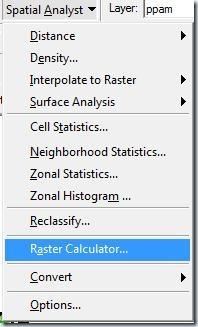 F2. Calculadora raster