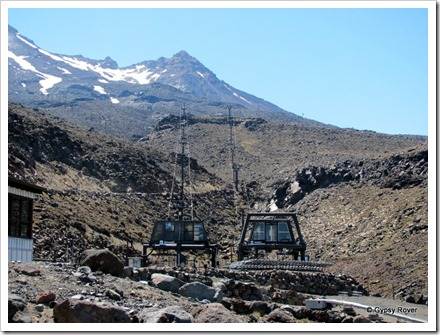 Turoa Ski field on Mt Ruapehu.