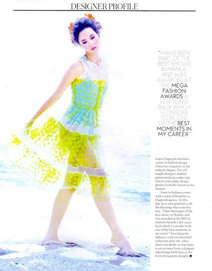 Catriona Gray in Louis Claparols for Mega Magazine Designer Profile-03