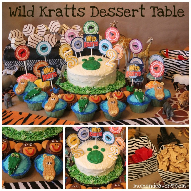 Wild Kratts Birthday Party DIY