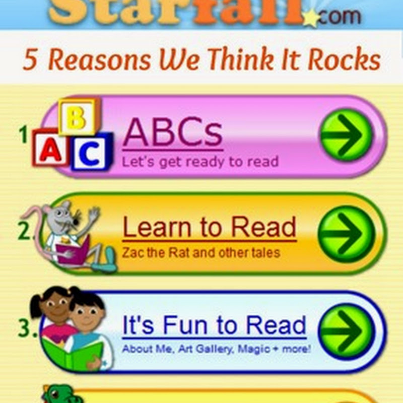 Starfall - Great Site for Early Literacy