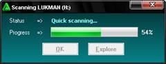 quick scanning