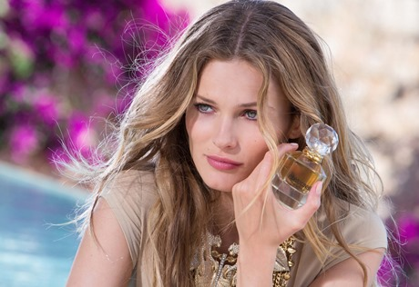 Roberto Cavalli Edita - model shot and bottle