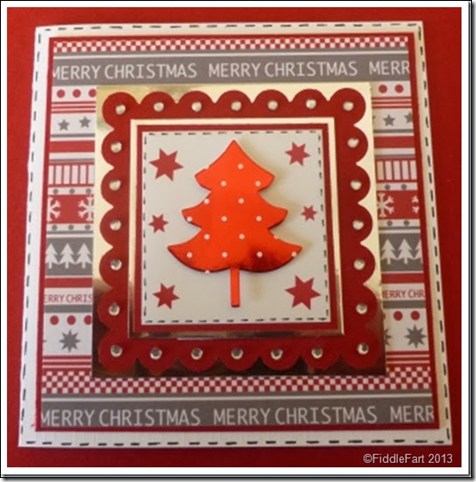 Layered Christmas Tree Card 3