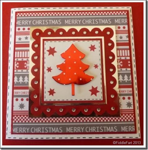 Layered Christmas Tree Card 3