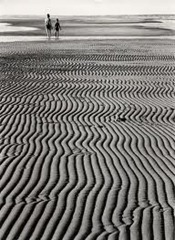 Ludwig Windstosser - walk at low tide - 1957