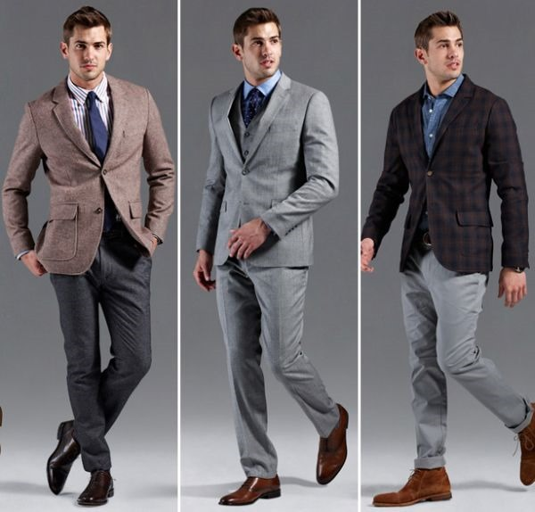 Men's office clothes