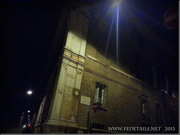 Corso Ercole I d'Este by night, photo2, Ferrara, Emilia Romagna, Italy - Property and  Copyrights of FEdetails.net