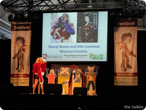 Animania World Cosplay Summit 2012 Australia - Macross Frontier and One Piece (1)