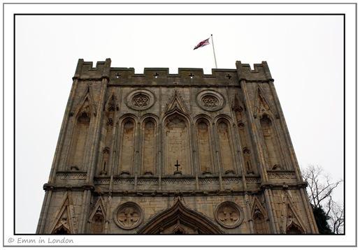 Abbey Gate detail