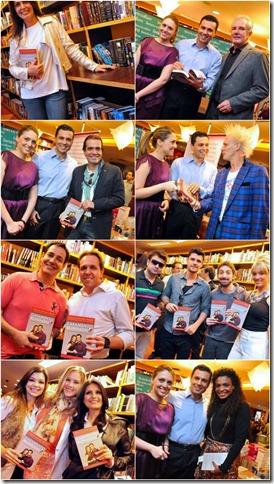 Lançamento do livro Casamento Blindado em São Paulo
