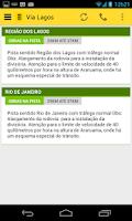 Screenshot of Trânsito Rio
