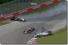 Incidente tra Perez e Massa