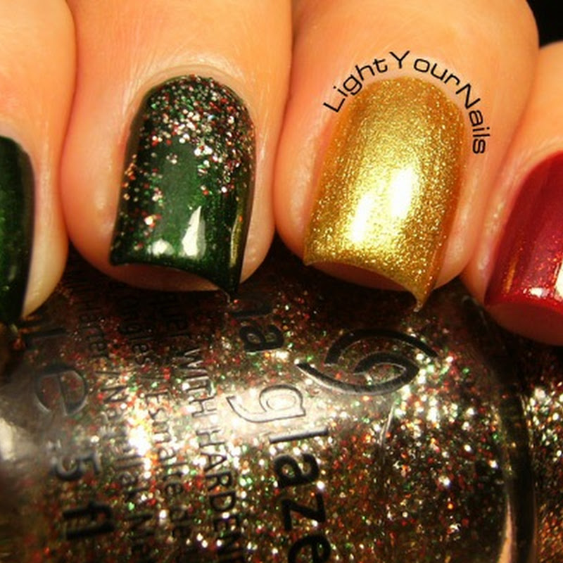 12 days of Christmas: festive colours/glitters