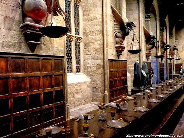 Visita a los estudios de harry potter en londres en el for Comedor harry potter