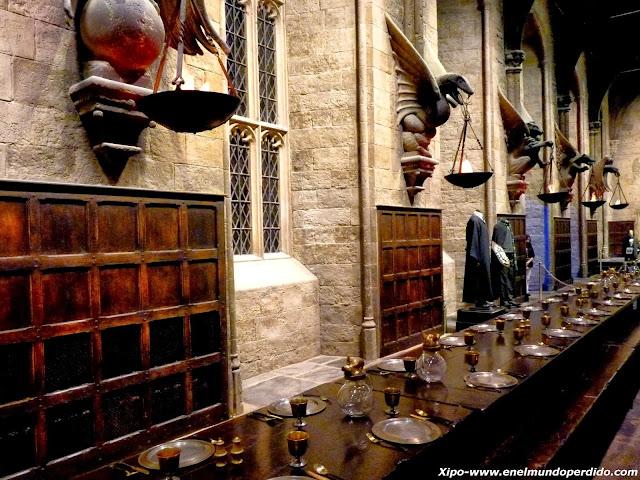 Comedor Harry Potter Of Visita A Los Estudios De Harry Potter En Londres En El