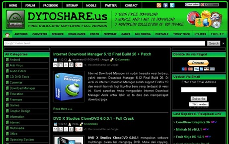 Template Blogspot Dytoshare.us