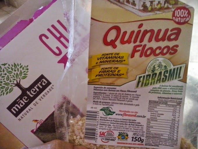 A Quinua e a Chia aliada na Alimentação.
