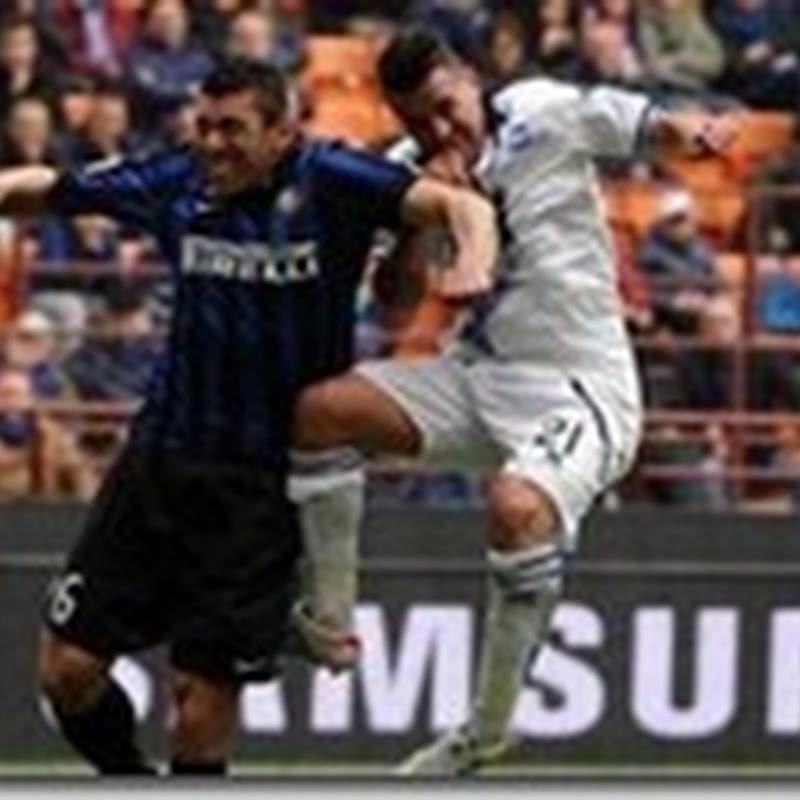 El Inter no levanta cabeza, esta vez empató 0-0 con el Atalanta