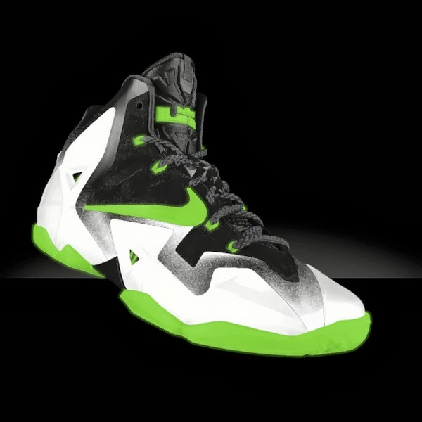 Preview LeBron XI iD8230 Galaxy Glow in the Dark and Much More