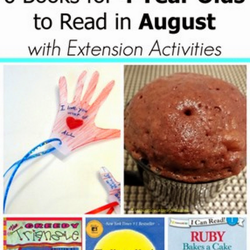6 August Books for 4 Year Olds