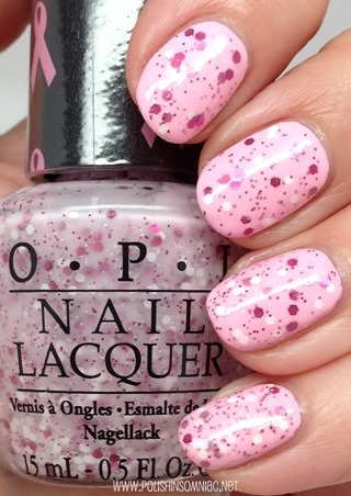 OPI The Power of Pink (Pink of Hearts 2014)