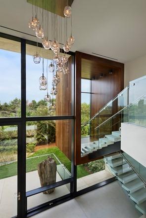 escaleras-Casa Daniel's Lane Blaze Makoid Arquitectura