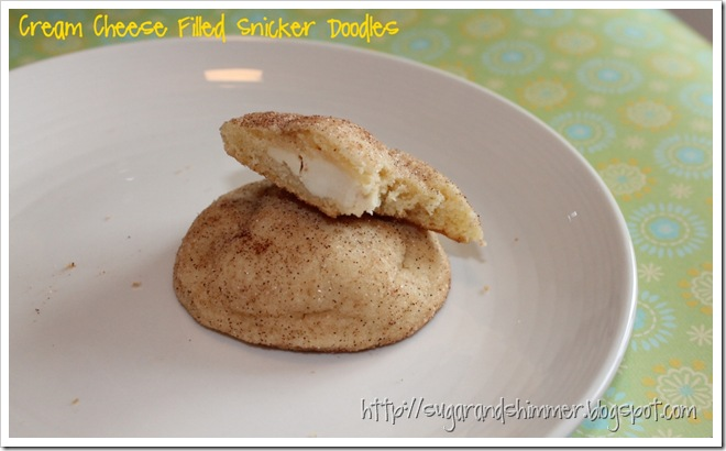 Cream Cheese Snicker Doodles