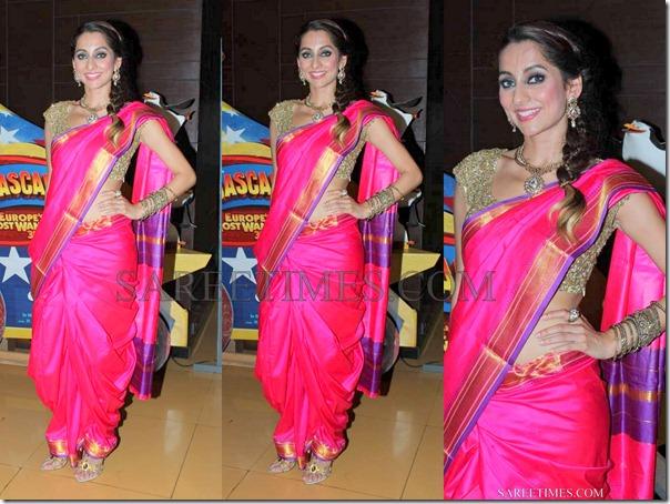 Anusha_Dandekar_Silk_Saree