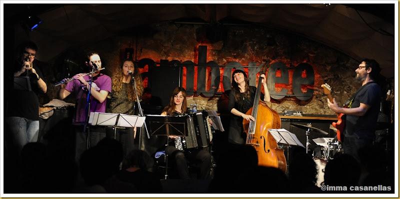 "Giulia Valle ""Líbera"" Quartet, Barcelona 2013"