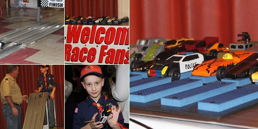View 2013 Pine Wood Derby - Race Day