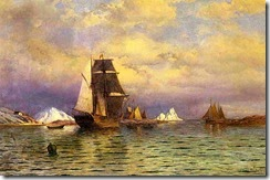 Looking out of Battle Harbor by William Bradford
