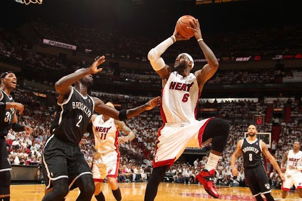 LeBron Closes Out Brooklyn in new Soldier 7 Heat Away PEs